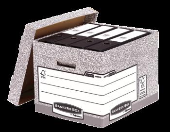 Fellowes System Standard Storage Box Grey