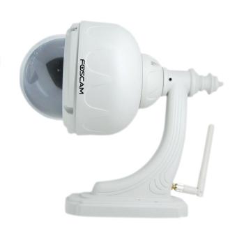 Foscam  Indoor/Outdoor Wireless IP Pan/Tilt Dome Camera.