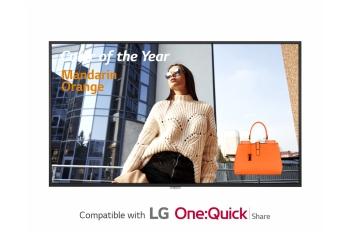 LG 49UH5F 49'' 500 Nits UHD Digital Signage Display