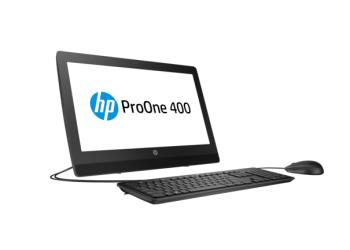 HP ProOne 400 G3 All in One Desktop PC (Intel Core i5 with Intel HD Graphics 630, 4GB, 1TB, Windows 10 Pro, 1 YR Warranty)