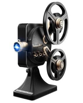 JMGO 1895 1200 ANSI Lumens 1080P Resolution Home Theater Retro Projector