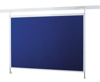 Legamaster 7-321563  Pin Board Legaline Dynamic White Blue Felt