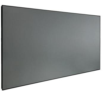 "DMINTERACT 150"" Thin Frame Black Crystal ALR Projector Screen"