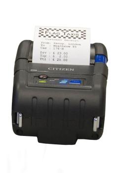 Citizen CMP-20II Thermal Receipt Printer, 8 dots/mm (203 dpi), USB, RS232 - Black