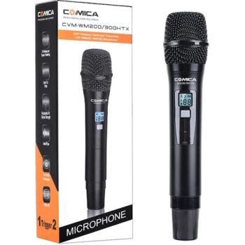 Comica Audio CVM-WM200300HTX Wireless Handheld Microphone