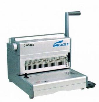 EAGLE CW 300 E ELECTRIC 3:1 WIRE BINDING MACHINE