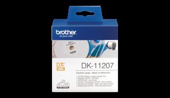 Brother DK-11207 CD/DVD Labels (Film)