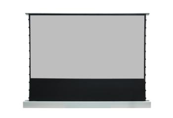 "DMInteract 100"" Floor Rising Projector Screen - Black Crystal"