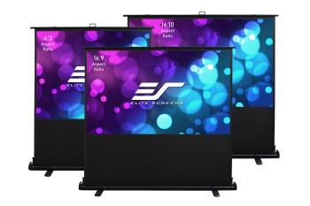 "Elite Screens F84XWV2 84"" ezCinema2 Manual Floor Projector Screen"