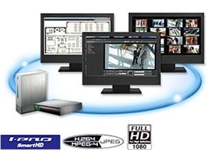 Panasonic PC-base Recording Software, 64 ch WV-ASRE564