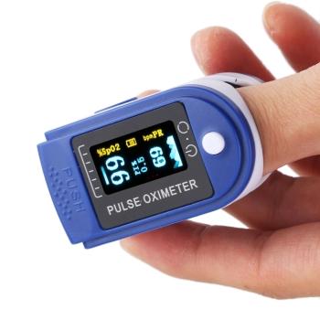 DM JZK-301 OLED Instant Read Digital Fingertip Pulse Oximeter