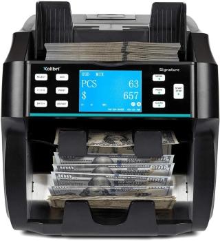 Kolibri Signature 2 Pocket Mix Value Counter, Sorter and Reader