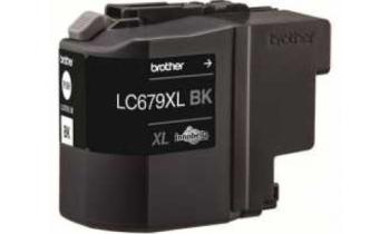 Brother High Yield Black Ink Cartridges LC679XLBK