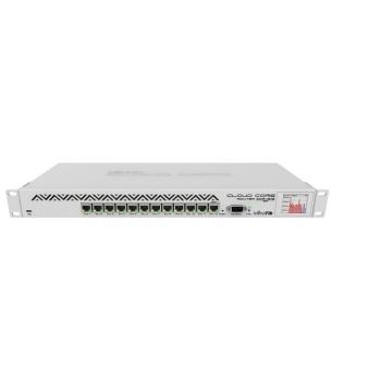 MikroTik CCR1016-12G 1U Rackmount, 12x Gigabit Ethernet Cloud Router