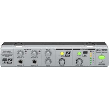Behringer MIX800 Compact 2-Channel Karaoke Sound Processor