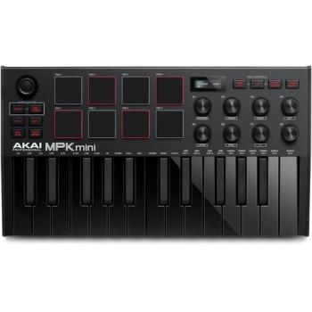 AKAI Professional MPK Mini MK3 Compact Keyboard - Black