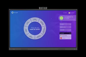 "OneScreen  75"" All-In-One Video Collaboration Hub (Intel i5, 8GB RAM, 256GB SSD, Win10 Pro)"