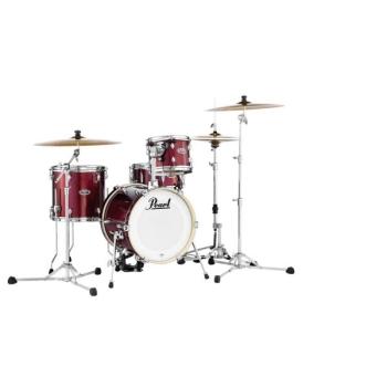 Pearl MDT764P-C-704 Midtown Black Cherry Glitter 4 Piece Drum Shell Pack w/o Case