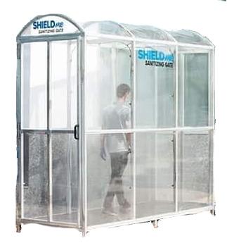 DM Shieldme Sanitizing Tunnel Spray Gate