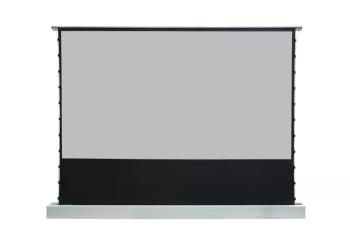 "DMInteract EDL83 Series 135"" Floor Rising Projector Screen"
