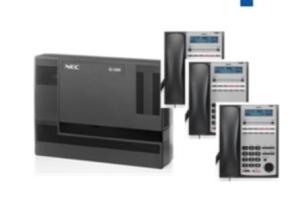 Nec SL1000 PABX System Bundle Set of 3 - IP Phones