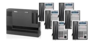 Nec SL1000 PABX System Gitex Bundle Set of 6 - IP Phones