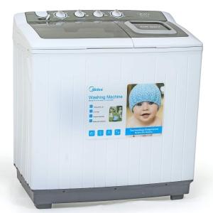 Midea MTE120P1201Q Twin Tub Semi Auto Washing Machine